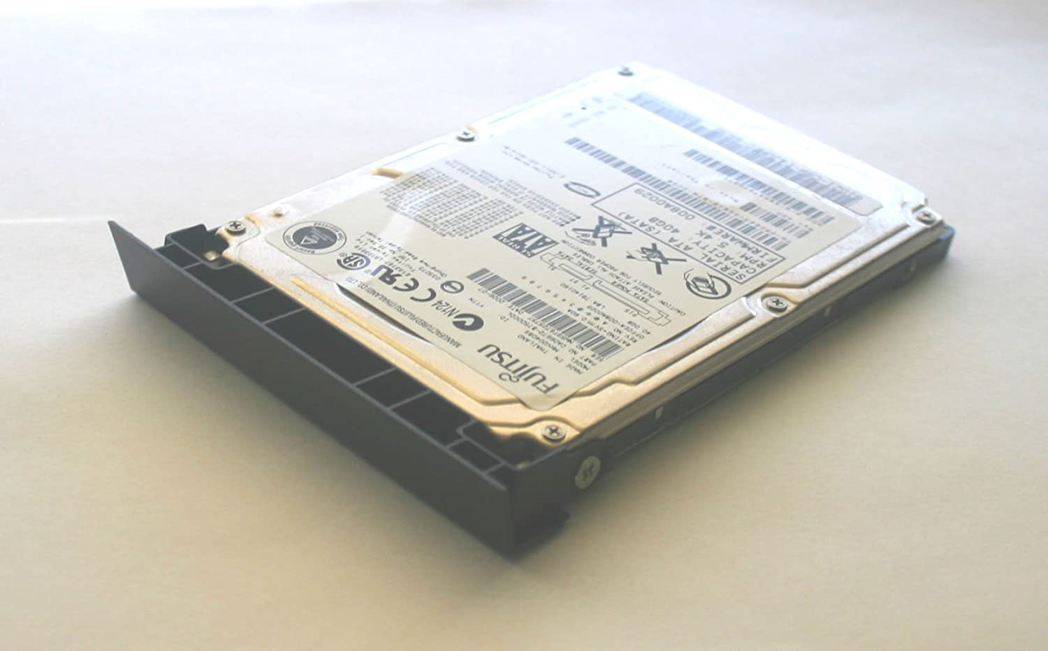 "500GB 2.5"" SATA Laptop Hard Drive with Caddy, Windows 7 Pro 64-Bit and Drivers Installed for The Dell Latitude E6400"