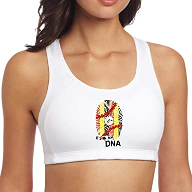 Uganda Flag Baseball in My DNA Yoga Tank Top, Sport Women ...