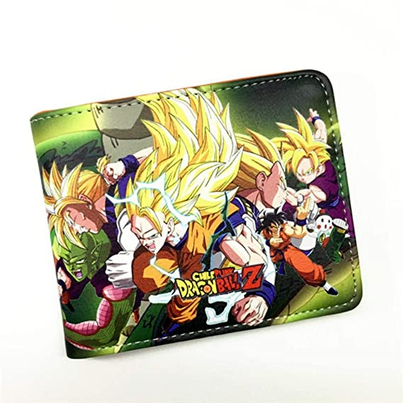 Swvv Cartera Dragon Ball Z Wallet Green Male and Female ...