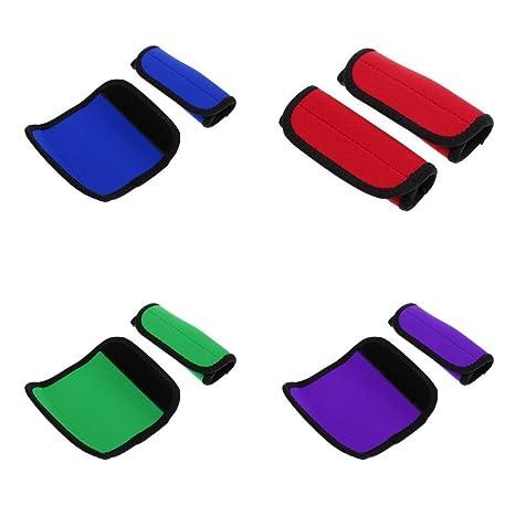 Jili Online - 4 pares de empuñaduras ajustables para pádel de kayak – Cierre de gancho