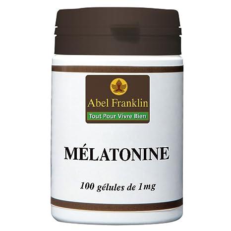 Mélatonina 1 mg 100 cápsulas duras