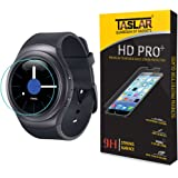 TASLAR Premium Arc Edge Tempered Glass Screen Protector For Samsung Gear S2 Classic R720/S2 Smart Watch
