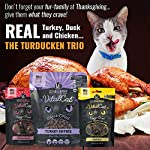 Vital Cat Freeze-Dried Grain Free Turducken 3 Pack: Turkey Entrée (12 oz.), Duck Liver Treats (.9 oz) , and Chicken Hearts Treats (.8 oz) 8