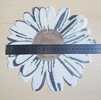 Aufn/äher B/ügelbild Aufb/ügler Iron on Patches Applikation Kinder Baby Sonnenblume Blume