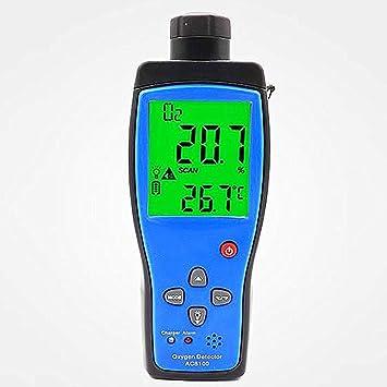 Oxígeno portátil O2 medidor de gas detector de alarma de gas detector 0~25%