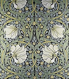 Wall Art Print Entitled Pimpernel Wallpaper Design By William Morris Celestial Images