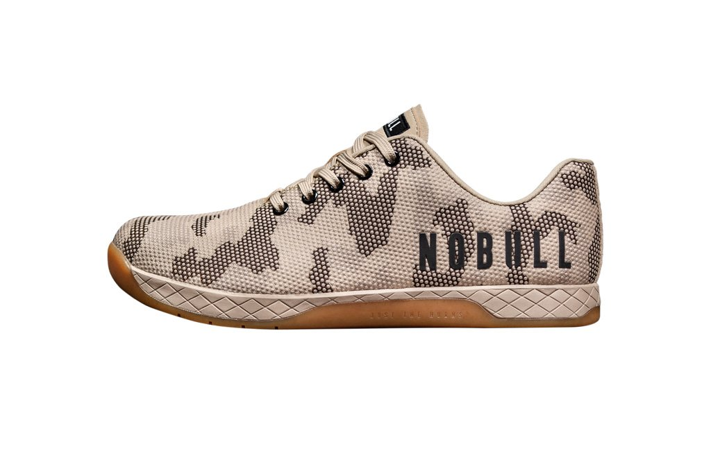 NOBULL Women'sTraining Shoes and Styles (5, Sand Camo)