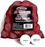 Maxfli 48 Recycled Golf Balls in Mesh Bag, Outdoor Stuffs