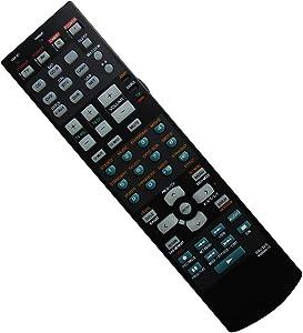 Hotsmtbang Replacement Remote Control for Yamaha RAV320 WG646100 RAV321 RX-V659 HTR-5960 HTR-5960BL HTR-5960SL 7.1-Channel Digital Home Theater AV A/V Receiver