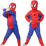 IndyRagie Spiderman Costume for Kids ( 11 to 13 Years)