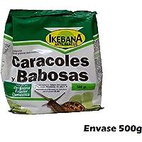 Molusquicida Ikebana 500g anti limacos cebo para controlar