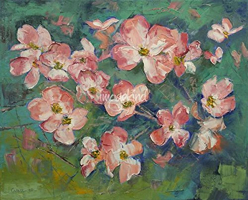 Imagekind Wall Art Print entitled Pink Dogwood by Michael Creese | 10 x 8