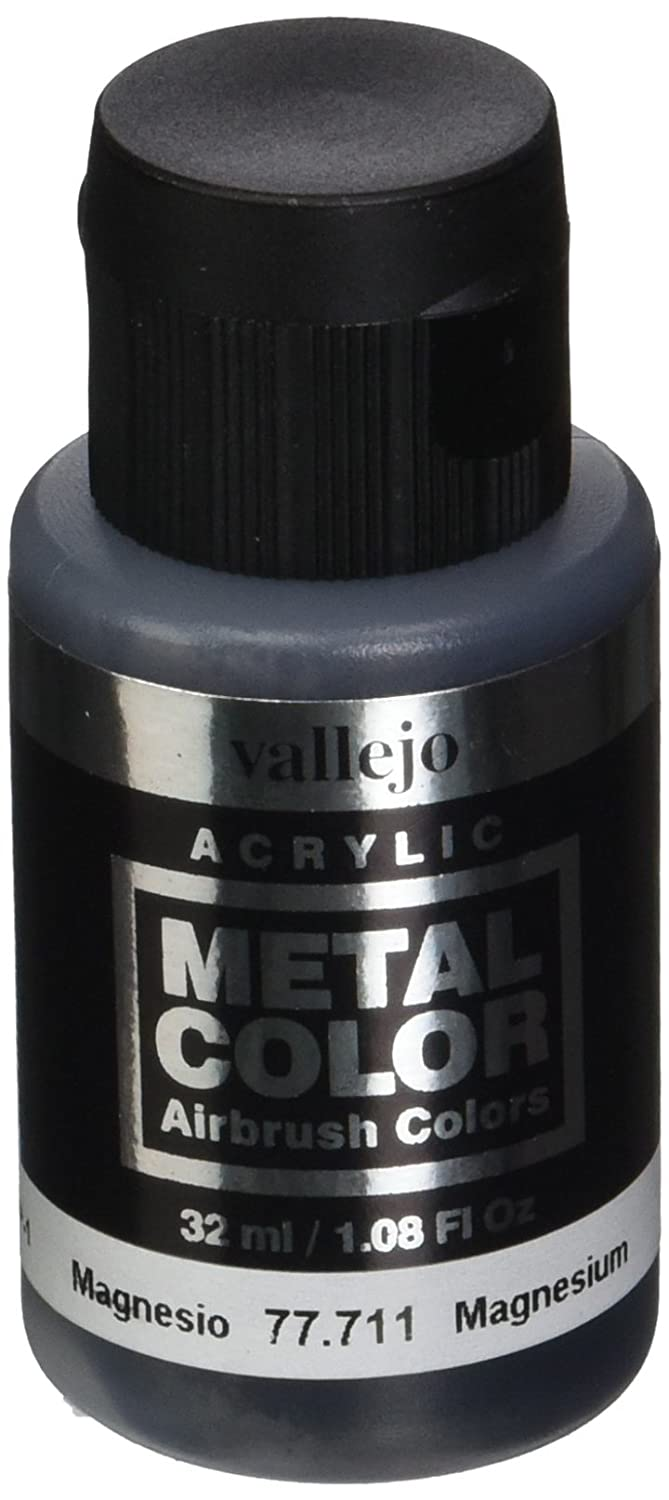 Acrylicos Vallejo 32 ml magnesio Metal Color: Amazon.es: Oficina y papelería