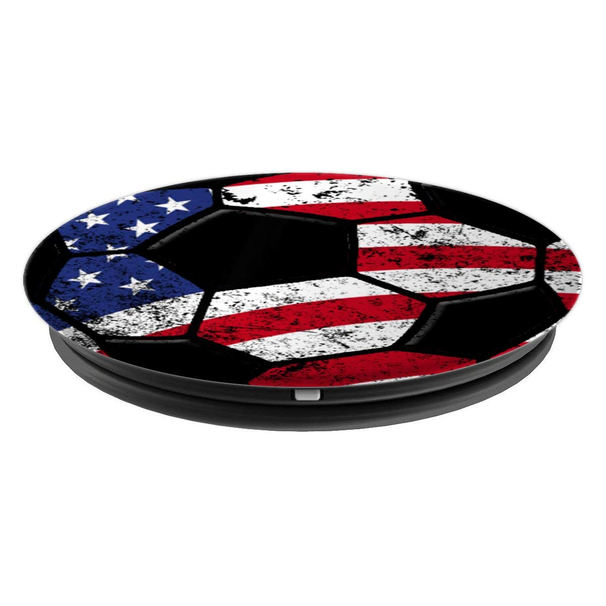 Amazon.com: Soccer USA Flag Pop Socket Player Christmas Birthday Gift - PopSockets Grip and Stand for Phones and Tablets: Cell Phones & Accessories