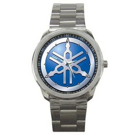 relojes de pulsera ESHSS277 Yamaha Motorcycle Logo #A Sport Metal Watch