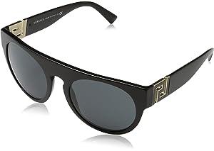 31e4d8680c Amazon.com  Versace VE4271B 503913 Sunglasses Opal Beige  Clothing