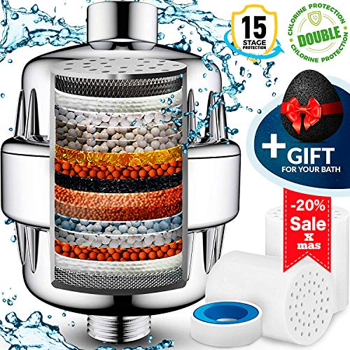 15 Stage Shower Water Filter to remove impurities - 2...