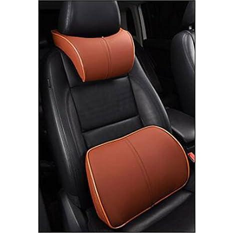 Amazon.com: homdsim asiento de coche Lumbar almohada de ...