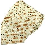 Jacob Alexander Men's Matza Cracker Passover Extra Long Neck Tie