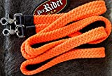 ProRider Orange Cotton Roping Barrel Racing Reins 7'X1 Braided Western Horse Tack 60744