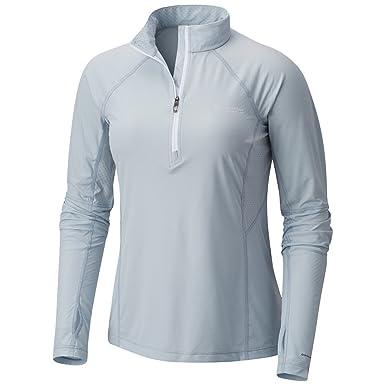 Montrail by Columbia Titan Ultra Half-Zip Running Shirt Womens at ... 37cdd020c