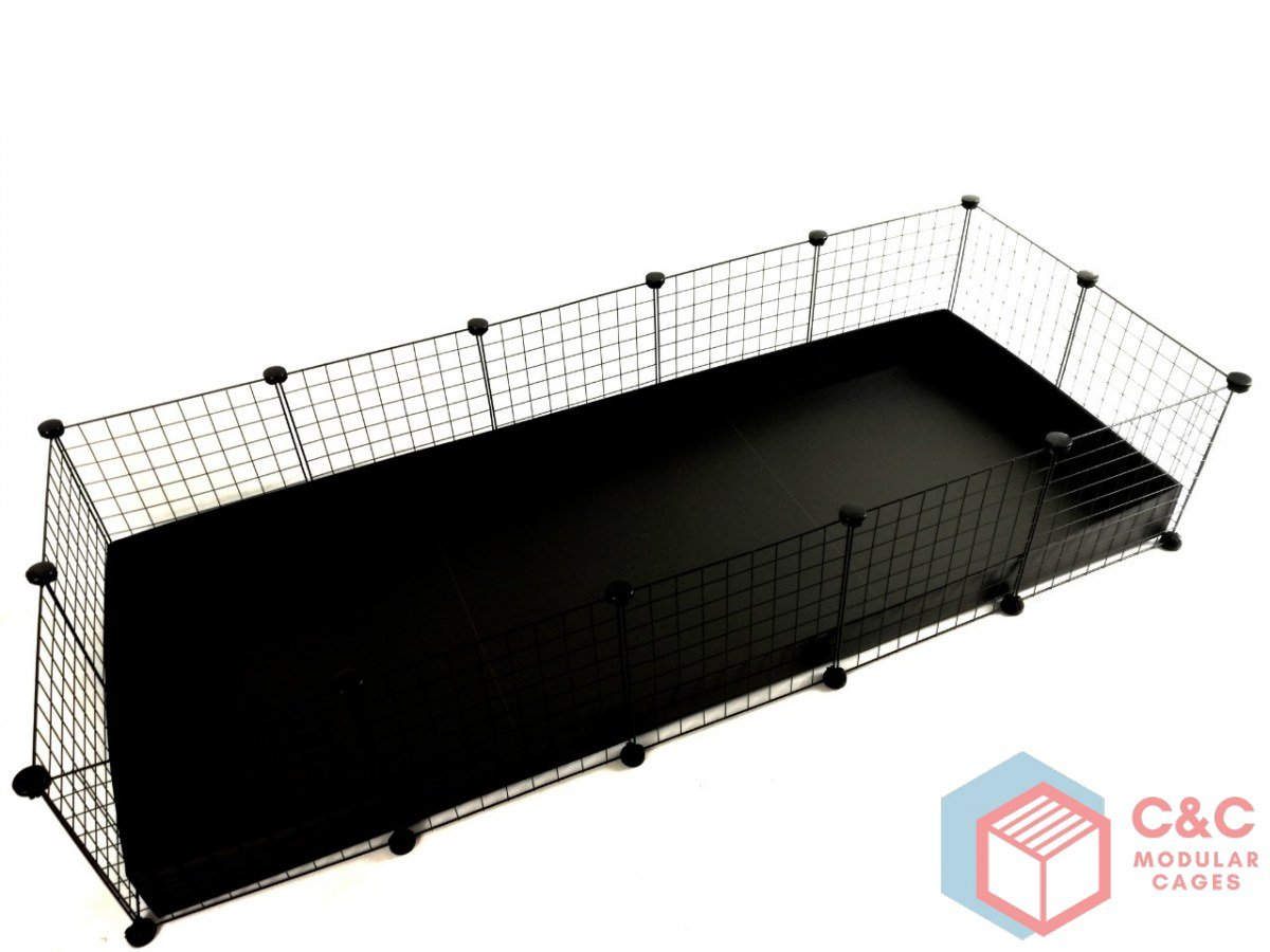 C&C Modular Cages Jaula Guinea Pig, C&C 5 x 2: Paneles x 14 + ...