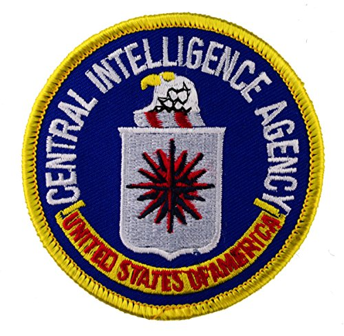 CIA Central Intelligence Agency iron or sew on 3 inch Patch AKPT174