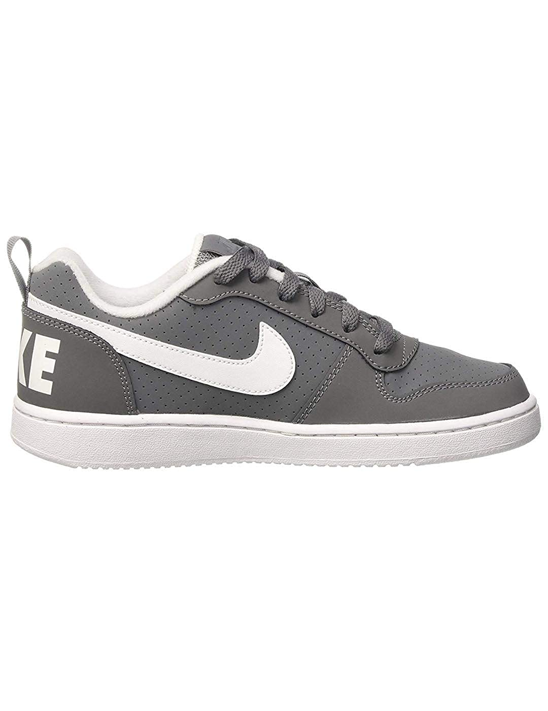 TALLA 36 EU. Nike Court Borough Low (GS), Zapatillas de Baloncesto para Niños