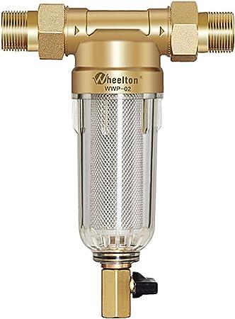 Prefiltro Wheelton primer paso de filtro de agua purificador ...