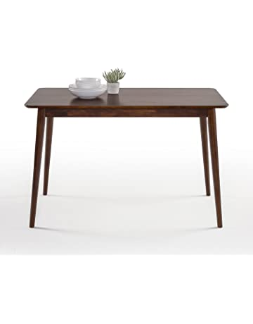Zinus Jen Mid Century Modern Wood Dining Table Espresso