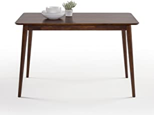 Zinus Mid Century Modern Wood Dining Table Natural