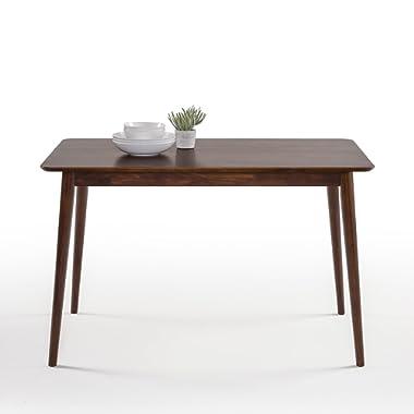Zinus Mid-Century Modern Wood Dining Table / Espresso