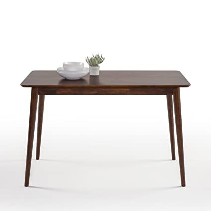 Amazon Com Zinus Jen Mid Century Modern Wood Dining Table