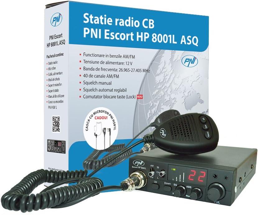 Cb Empfänger Sender Pni Escort Hp 8001l Einstellbar Asq 4w Tastensperre Funktion Kopfhörer Hs81l Enthalten Navigation