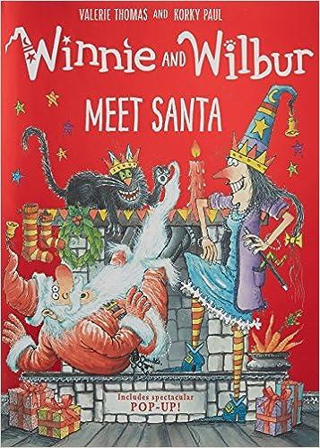 Image result for winnie and wilbur meet santa