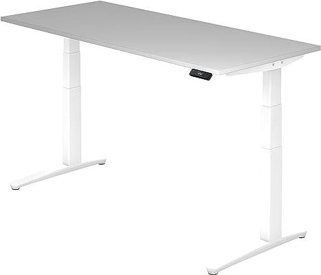 Asiento de pie de escritorio el.180 x 80 cm, Gris/Blanco: Amazon ...
