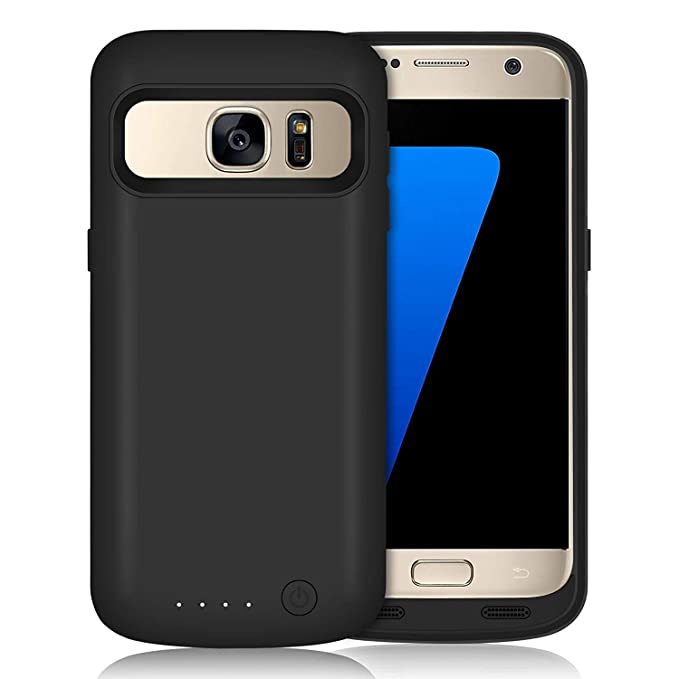 save off cb6b4 2b08c Galaxy S7 Battery Case 5000mAh Upgraded Portable Rechargeable Extended  Battery Pack for Samsung Galaxy S7 Charging Case for Galaxy S7 Protective  ...