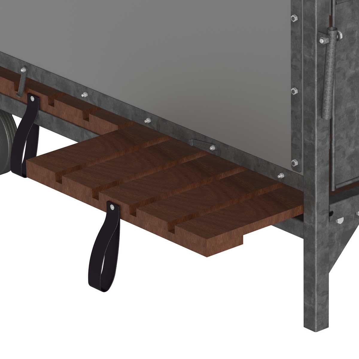 Kerbl terneros cabaña terneros Box, longitud: 120 cm: Amazon.es: Productos para mascotas