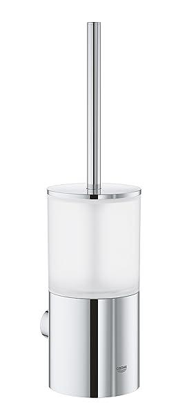 uk availability shades of official supplier GROHE Atrio Brosse WC, Métal, Chrome, 38,5 x 22,5 x 12,5 cm ...