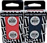 Set of 2 Authentic Decks Dealt at 2017 WSOP Used Copag Plastic Playing Cards Bridge Standard Index