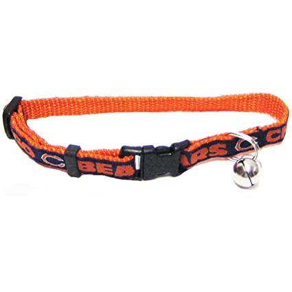 3030d00c6e3 Image Unavailable. Image not available for. Color: Pets First NFL Chicago  Bears Cat Collar ...