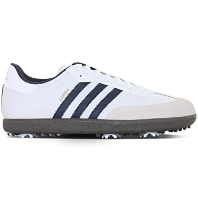 Adidas Samba Golf Shoe WhiteNavyGum 9: Amazon.co.uk