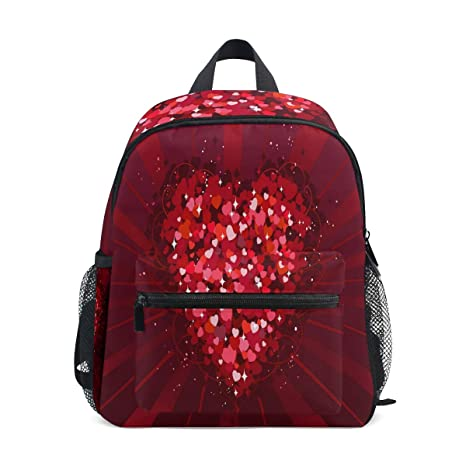 fb56fee87 Love Collection Happy Valentine'S Day Kids Backpack Children School Bag  Daypacks for Girls,Boys,