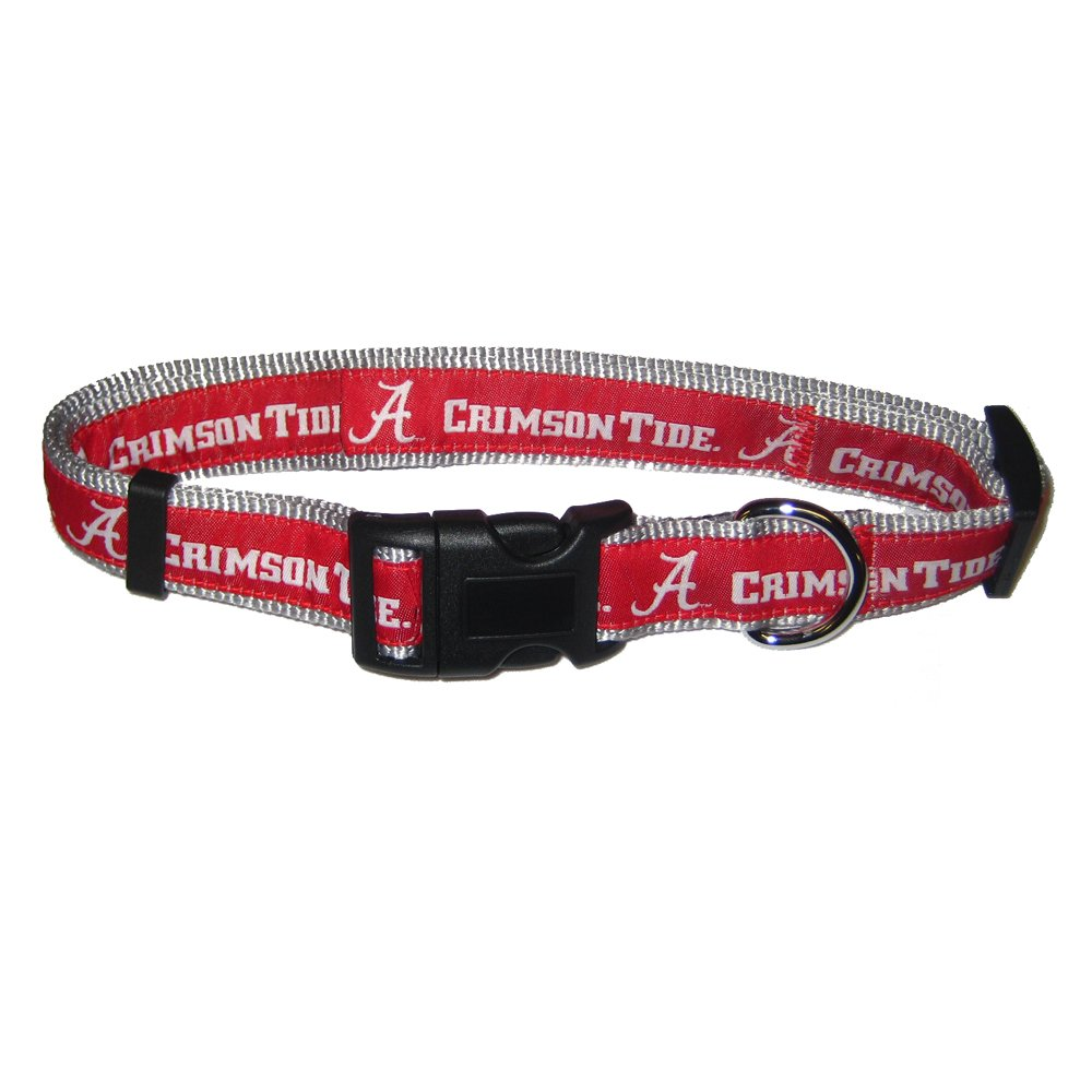 Mirage Pet Products Alabama Crimson Tide Collar for Dogs and Cats, Medium