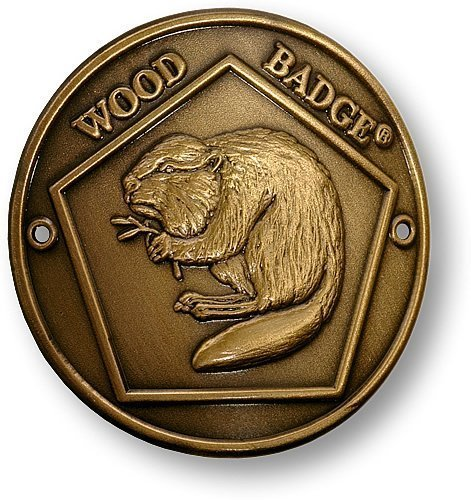 Badge Beaver Patrol Hiking Medallion