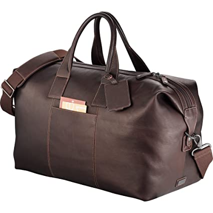 f7e2033292 Amazon.com  Kenneth Cole Colombian Leather Weekender Duffel  Sports    Outdoors