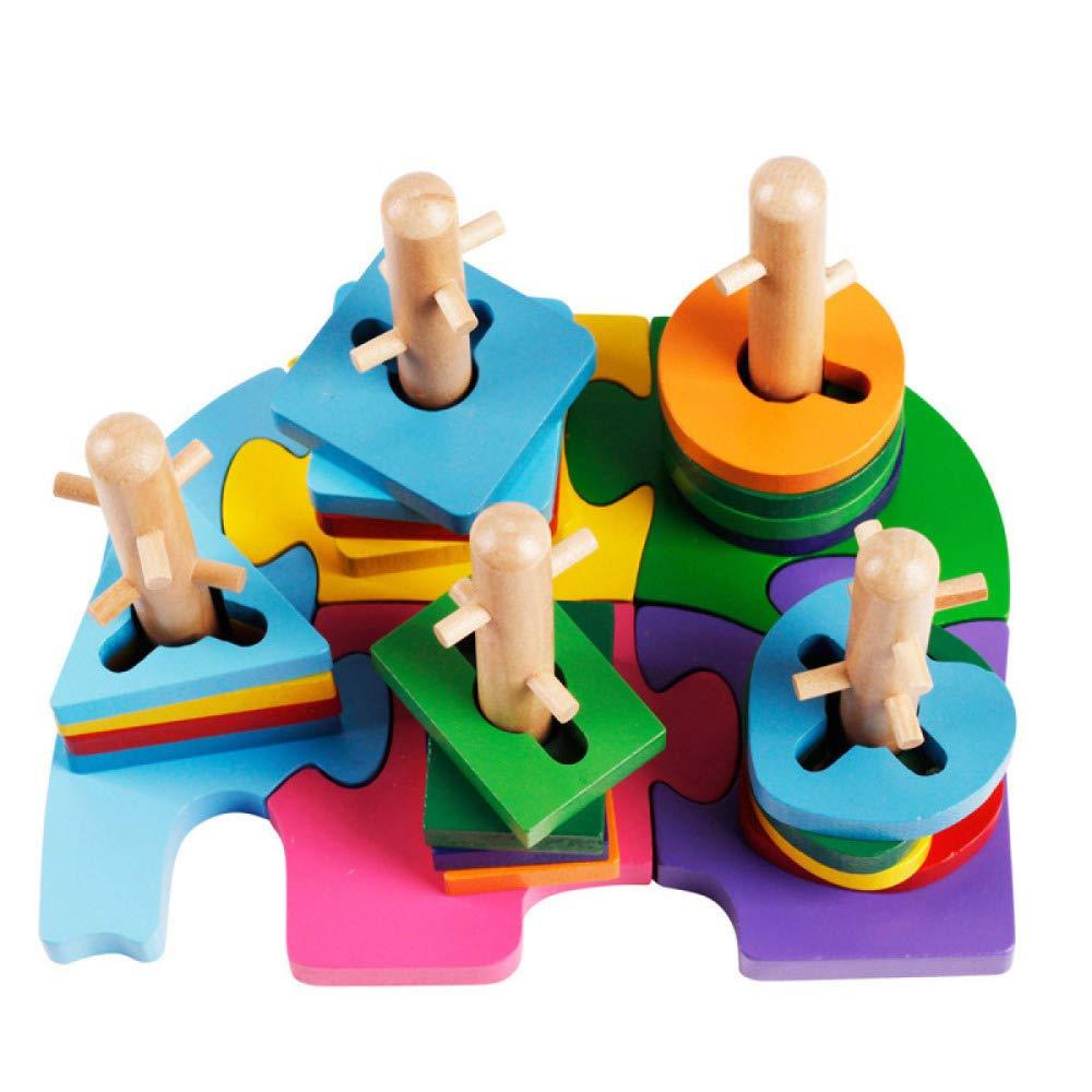 QXMEI Kinder Spielzeug Bausteine Pädagogisches Spielzeug Größe: 8,1 Zoll  6,1 Zoll  5,1 Zoll
