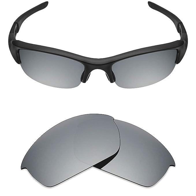 MRY lentes de repuesto para Oakley Flak Jacket polarizado gafas de sol (plata) de