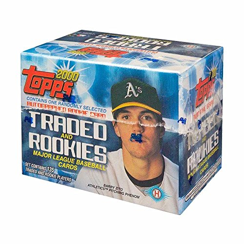 2000 Topps Traded and Rookies Update Baseball Hobby Factory Set