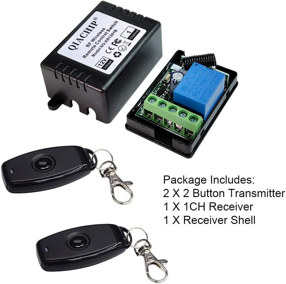 Super 12 V 1CH à Distance Sans Fil Relais Interrupteur on//off 2 4-key émetteur-récepteur 4 Récepteur